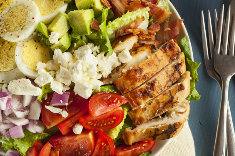 Summer Cobb Salad for One