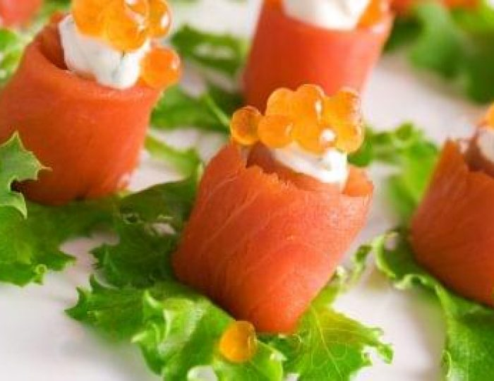 Salmon-rolls